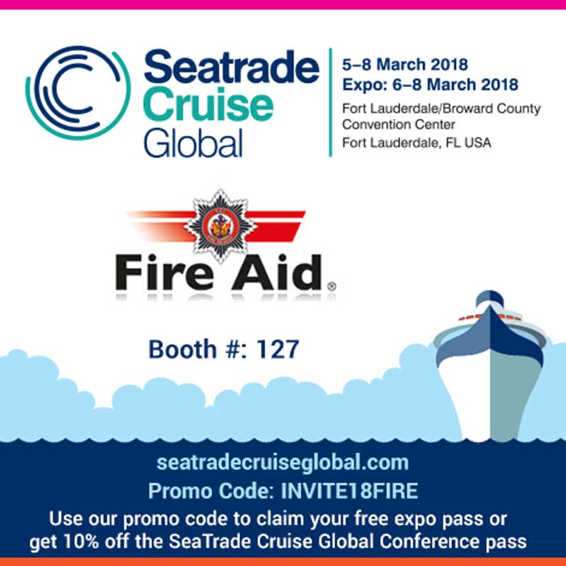 Seatrade Cruise Global Event Fire Aid