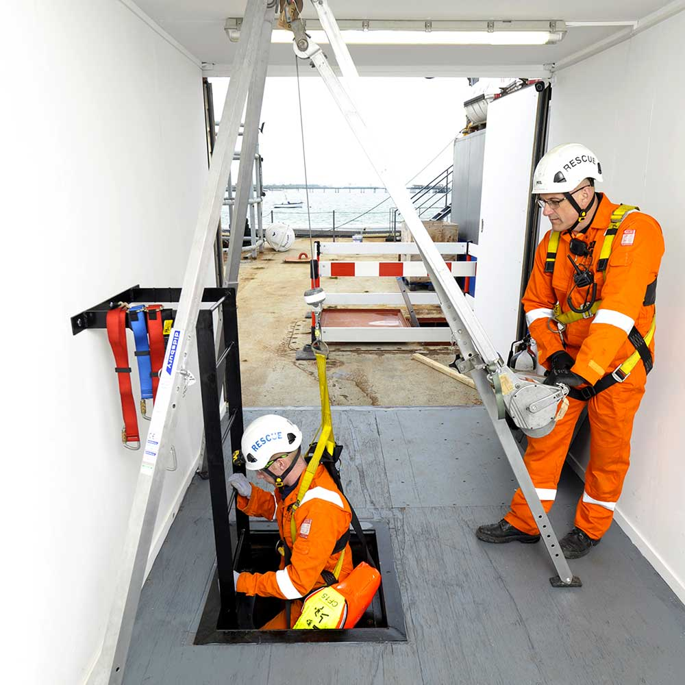 Confined Space Training Fire Aid